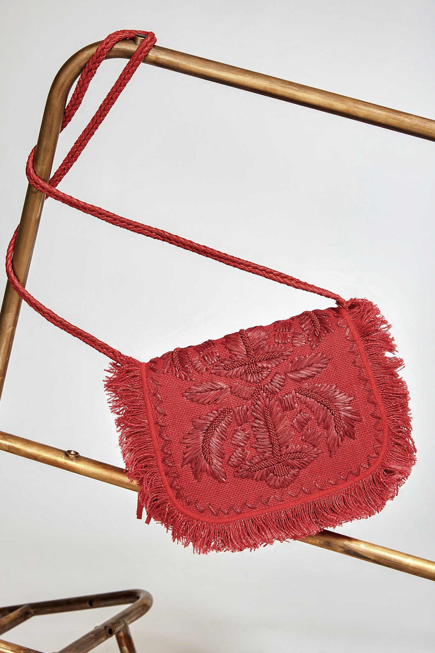 Petit sac Puppa rouge - Antik Batik (photo)