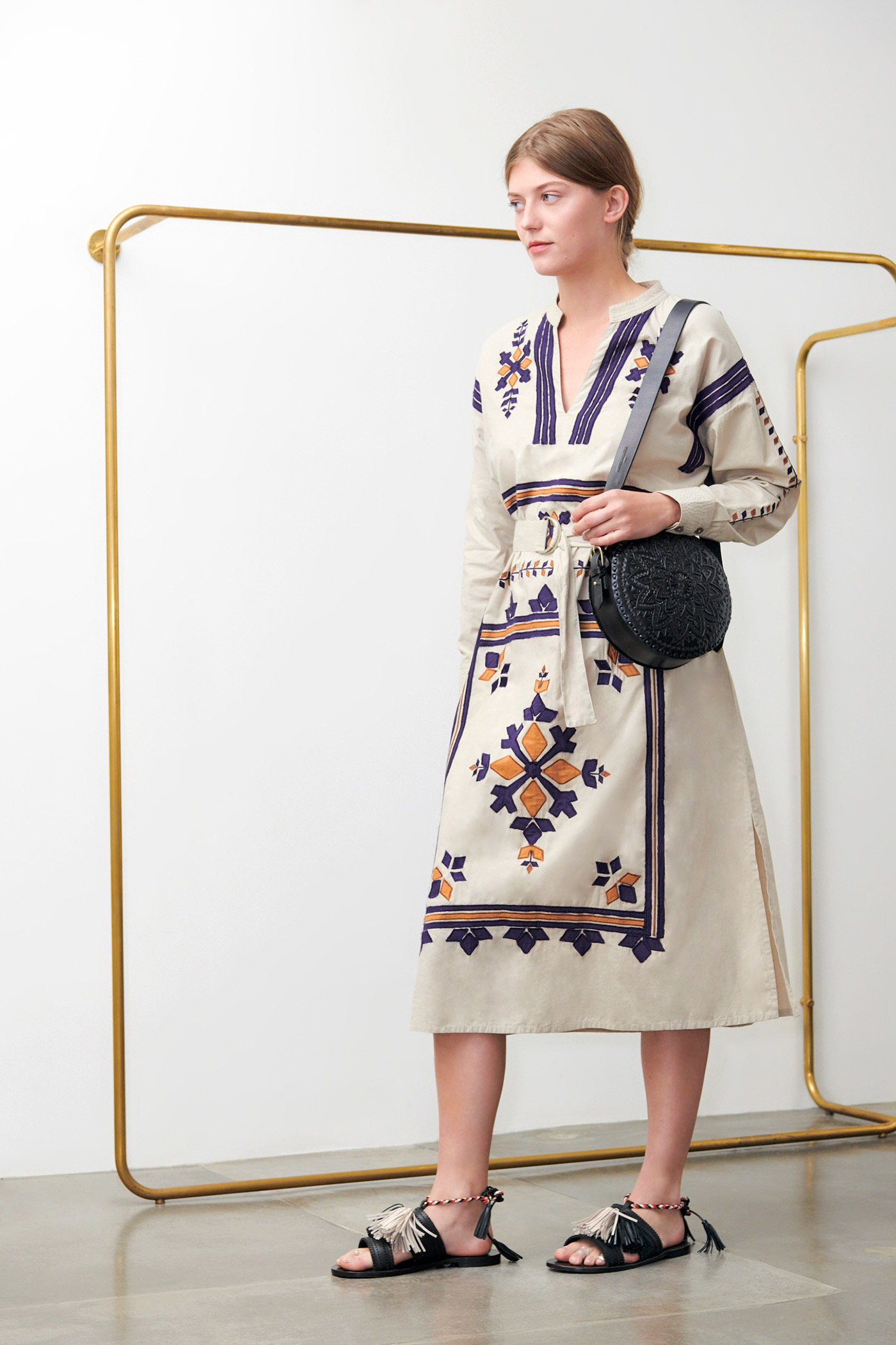Robe Anika beige - Antik Batik (photo)