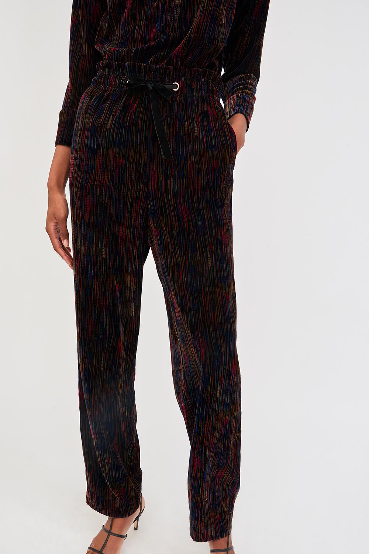 Pantalon en velours imprimé Flama - Antik Batik (photo)
