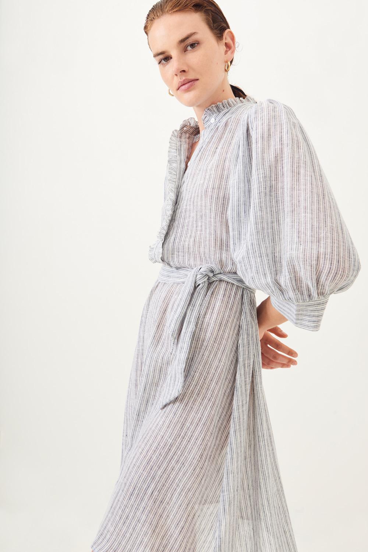 Robe coton tissé Kimolos - Antik Batik (photo)
