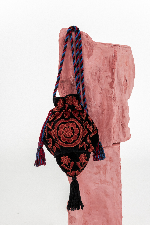 Sac seau brodé Ali - Antik Batik