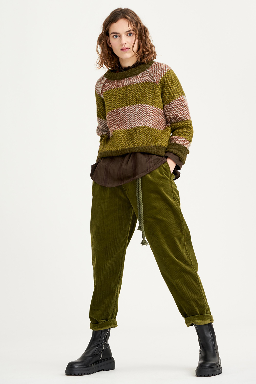 Pull alpaga Arthur - Vert - Antik Batik (photo)