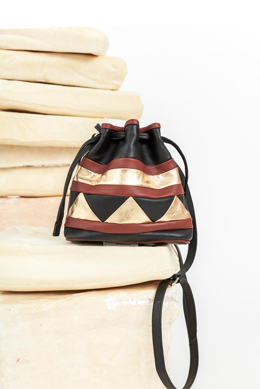 Mini sac seau Baloo - Antik Batik (photo)