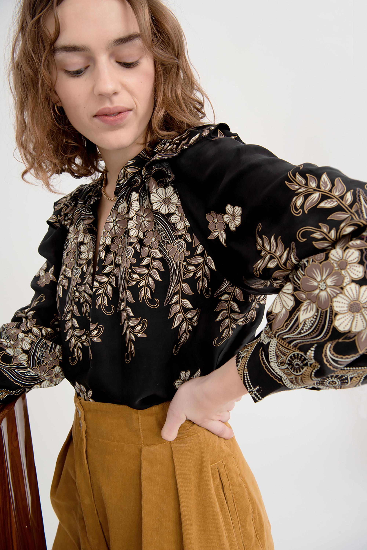 Blouse imprimée Amélia - Antik Batik (photo)