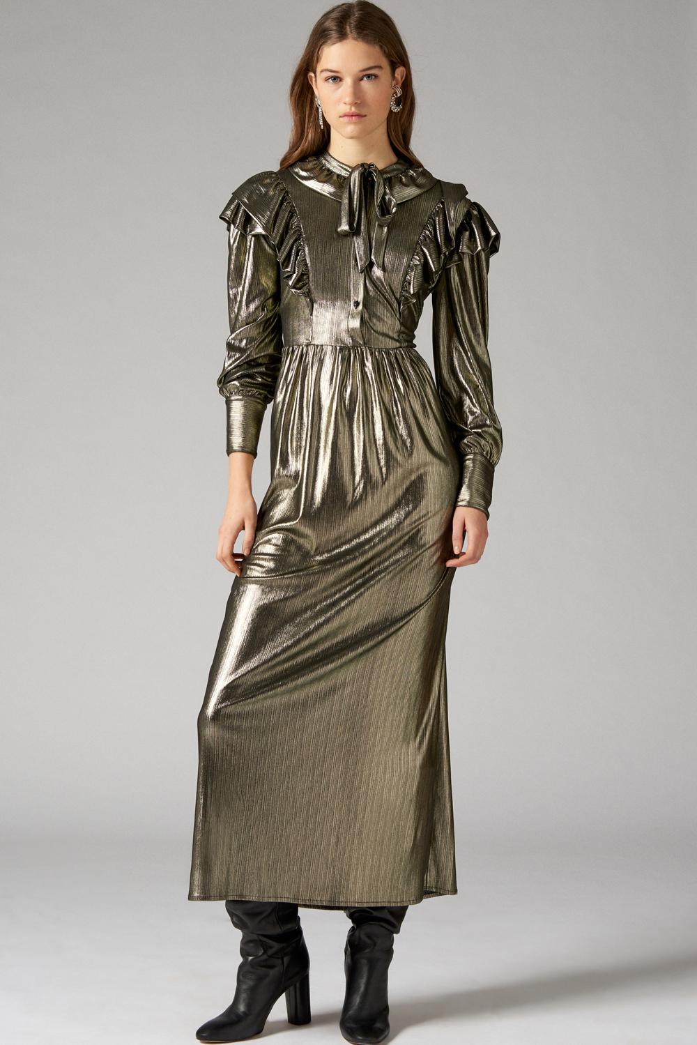 Robe métallisée Gowly - Antik Batik