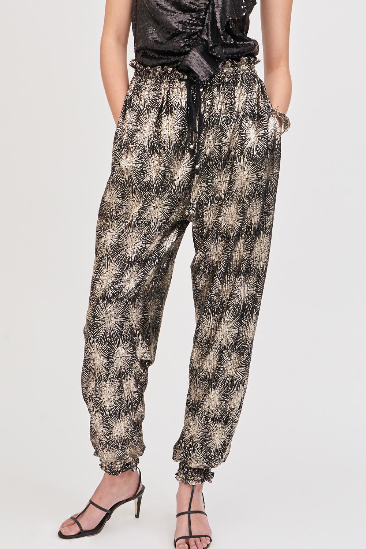 Pantalon fluide doré Grace - Antik Batik (photo)