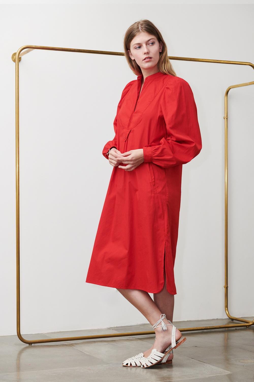 Robe Laka rouge - Antik Batik (photo)