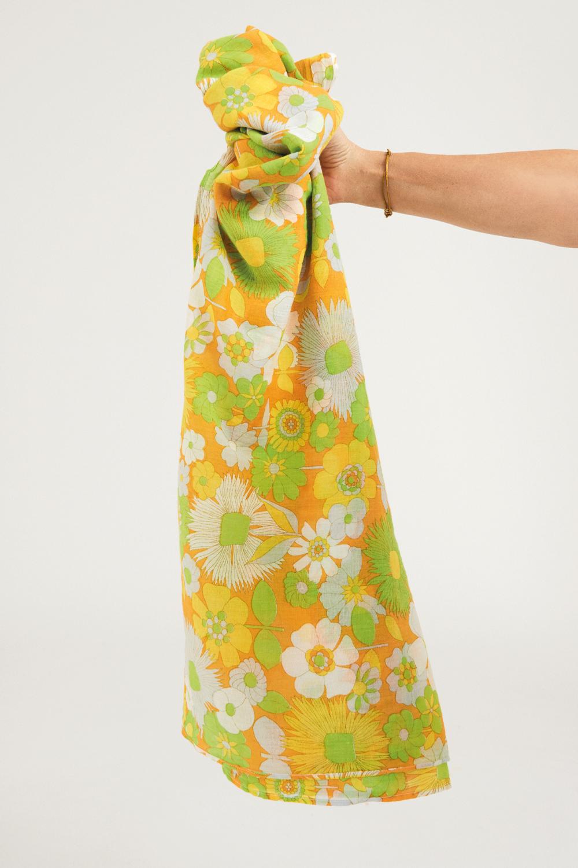 Paréo coton Lorette - Jaune - Antik Batik (photo)