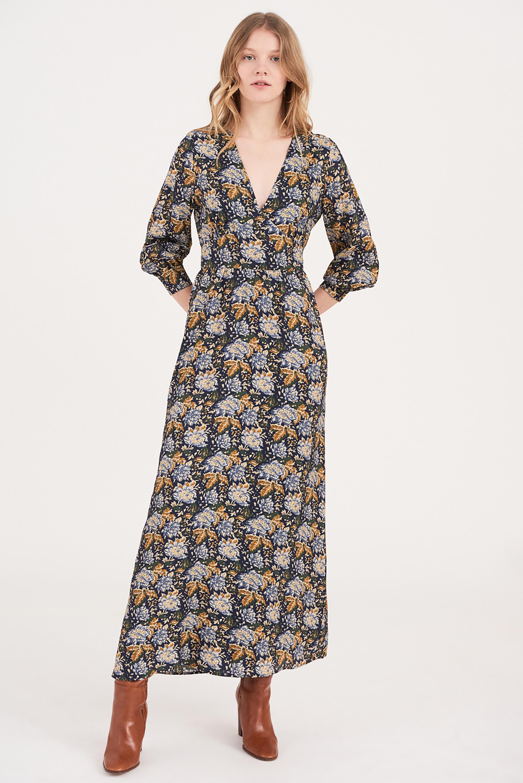 Robe longue à fleurs Misso - Antik Batik