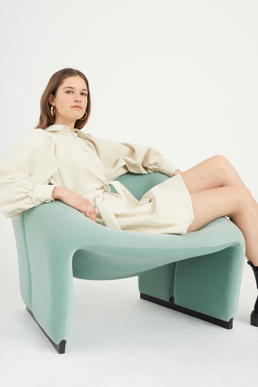 Robe velours Mona - Crème - Antik Batik