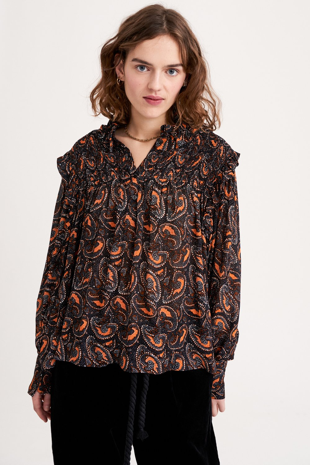 Blouse imprimée Otto - Antik Batik (photo)