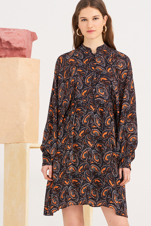 Robe midi imprimée Otto - Antik Batik