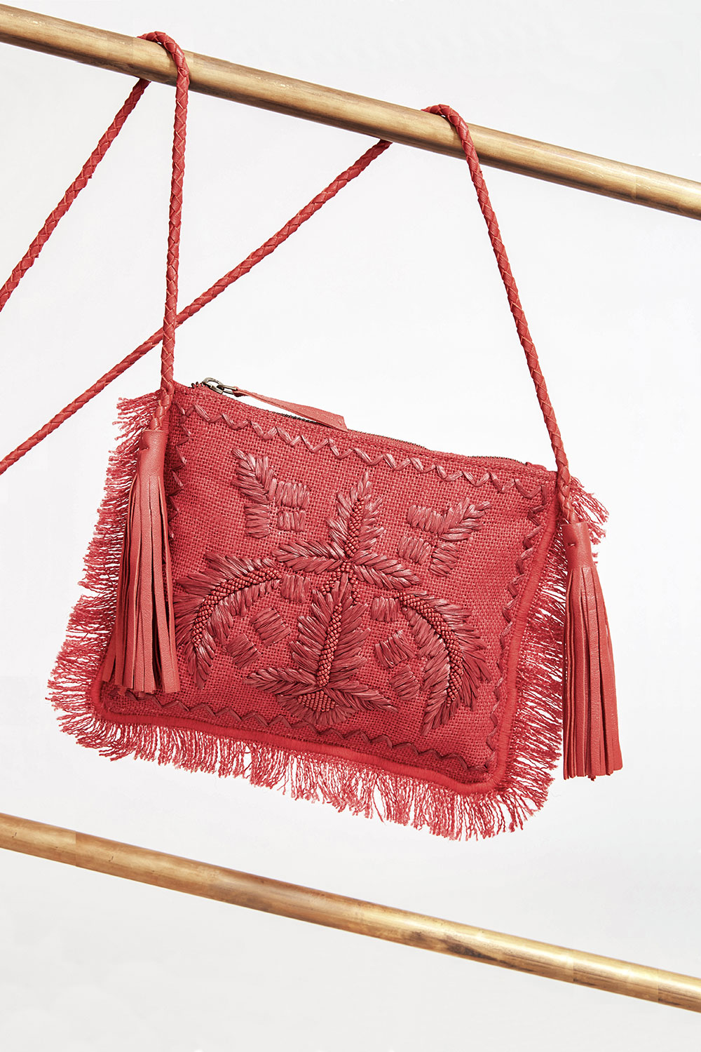 Pochette Puppa rouge - Antik Batik (photo)