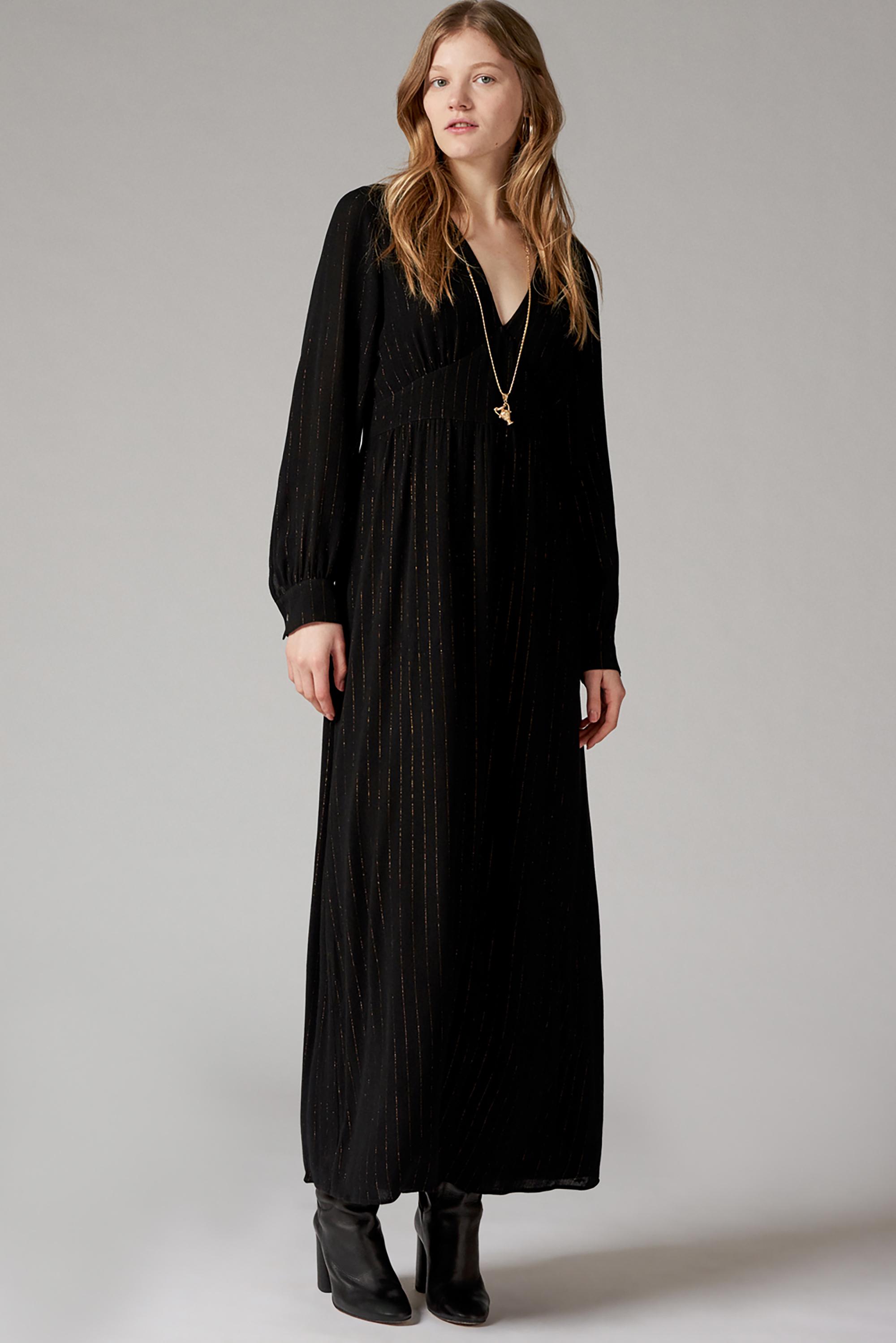 Robe longue rayée Soline - Antik Batik