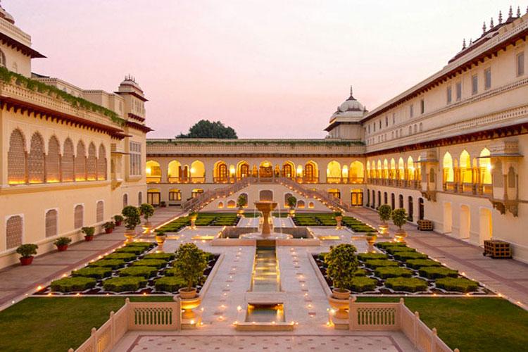 RAMBAGH PALACE BHAWANI - Jaïpur - night view