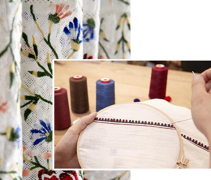 Savoir-faire - Broderie main - Antik Batik