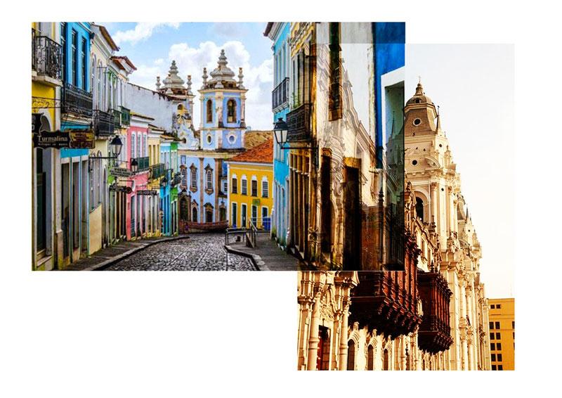 Lima - calle - colores - Antik Batik