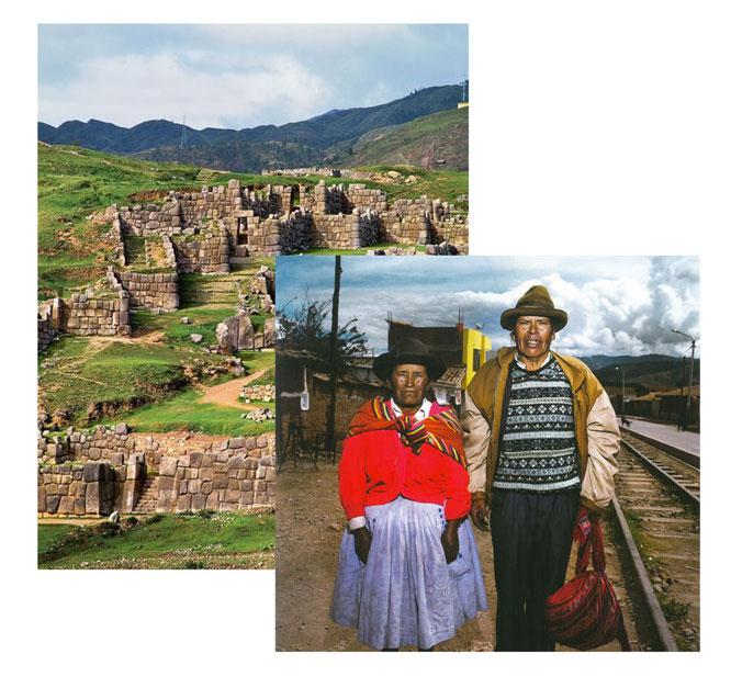 Lima - paisaje - montañas - verde - residentes - anti batik