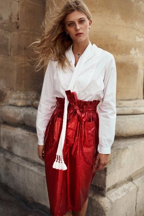 Gaynor skirt & Taylor tunic