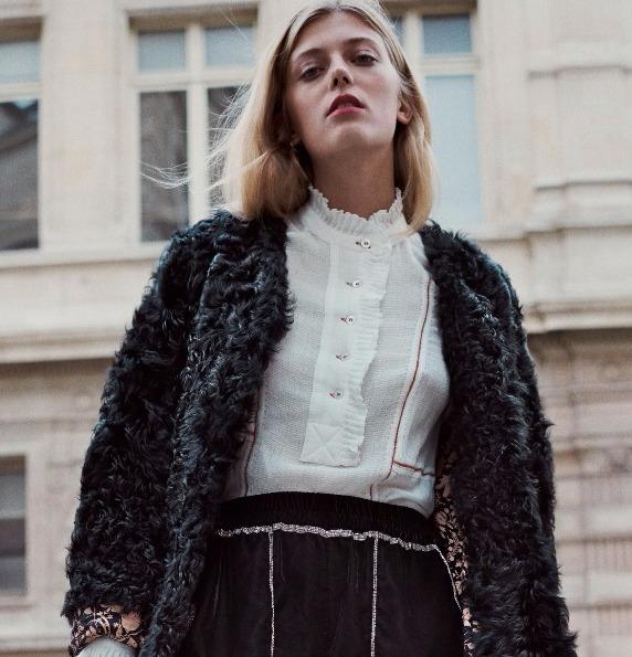 Celly coat & Bonty blouse
