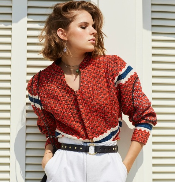 GISELE JACKET RED